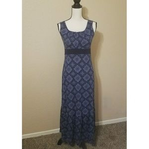 Tommy Hilfiger Blue Maxi Dress